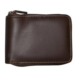 Men's Dopp Regatta Zip Around Billfold Mahogany