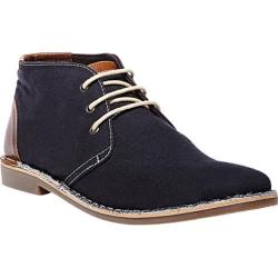 Men's Steve Madden Halloway Chukka Navy Canvas