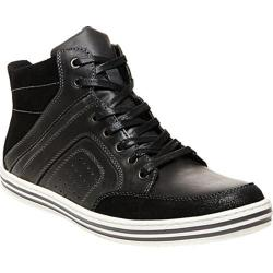 Men's Steve Madden Ristt Sneaker Black Leather