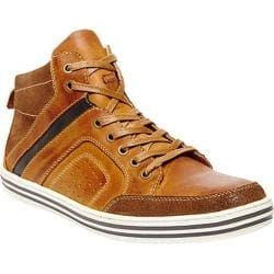 Men's Steve Madden Ristt Sneaker Tan Leather