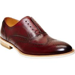 Men's Steve Madden Romah Wingtip Burgundy Leather