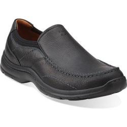 Men's Clarks Niland Energy Slip-on Black Tumbled Leather