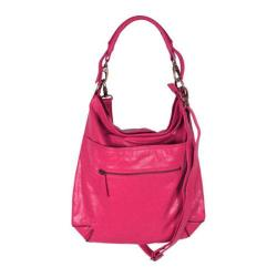 Women's Latico Francesca Hobo 7969 Fuchsia Leather