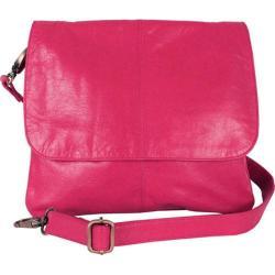 Women's Latico Jamie Cross Body/Shoulder Bag 7991 Fuchsia Leather