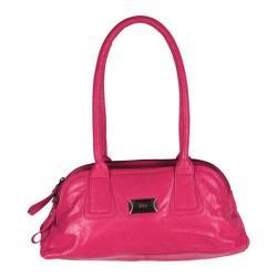 Women's Latico Louise Coinkeeper Shoulder Bag 7614 Fuchsia Leather