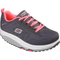 Women's Skechers Shape-ups 2.0 Charcoal/Coral