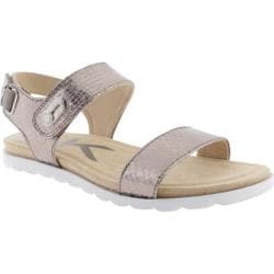 Women's Anne Klein Viewer Sandal Light Pewter Synthetic