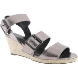 Women's Michael Antonio Goren Sandal Pewter Metallic