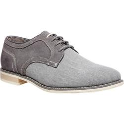 Men's Steve Madden Sojourn Oxford Grey Suede Canvas/Leather