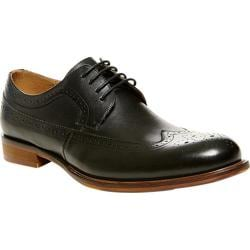 Men's Steve Madden Vaggio Wingtip Black Leather