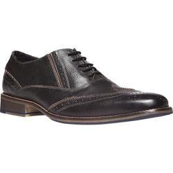 Men's Steve Madden Virgo Oxford Black Leather