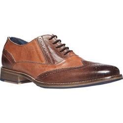 Men's Steve Madden Virgo Oxford Brown Multi Leather