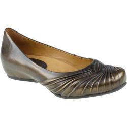 Women's Earthies Vanya Brushed Gold Metallic Leather