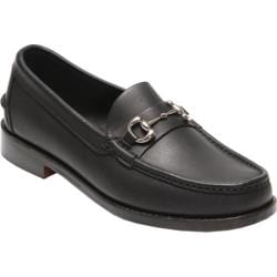 Men's Handsewn Company Bit Driver Leather Outsole Black Leather