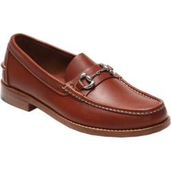Men's Handsewn Company Bit Driver Leather Outsole Brown Leather