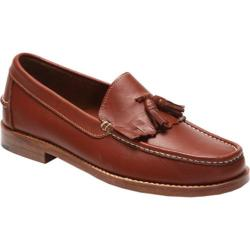 Men's Handsewn Company Tassel Kilt Driver Leather Outsole Brown Leather