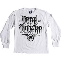 Boys' Metal Mulisha Decay Long Sleeve White