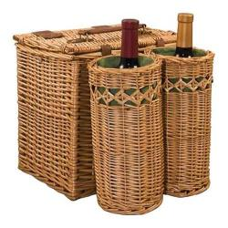 Picnic Time Vino Pine Green/Nouveau Grape