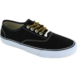 Men's Crevo Captain Sneaker Black Canvas