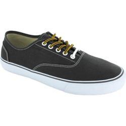 Men's Crevo Captain Sneaker Charcoal Canvas