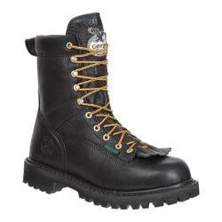 Men's Georgia Boot G8010 Low-Heel Logger Black
