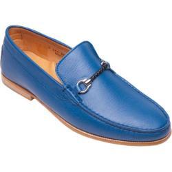 Men's Giovanni Marquez 254 Nappa Loafer Blue Leather