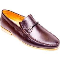 Men's Giovanni Marquez 254 Nappa Loafer T. Moro Brown Leather