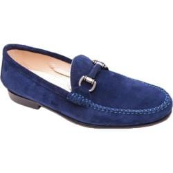 Men's Giovanni Marquez 5054 Camoscio Loafer Dark Blue Suede