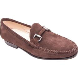 Men's Giovanni Marquez 5054 Camoscio Loafer T. Moro Brown Suede