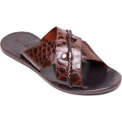 Men's Giovanni Marquez 91845 Cocco Sandal Marrone Leather