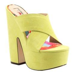 Women's Luichiny Brad Shaw Sandal Lime Imi Suede