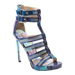 Women's Luichiny Tone Down Sandal Blue Imi Leather