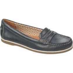 Women's Naturalizer Hamilton D1691 Classic Navy Mirage Leather