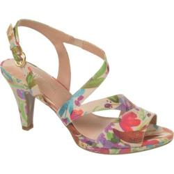 Women's Naturalizer Impulse Cream Floral Watercolor Iguana Print