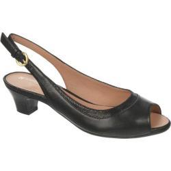 Women's Naturalizer Dravona Black ET Sheep Premium Leather