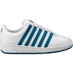 Men's K-Swiss Classic VN White/Mykonos Blue