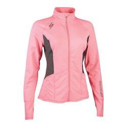 Women's Skechers Symmetry Zip Mock Performance Jacket Light Pink