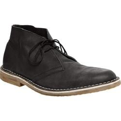 Men's Steve Madden Tristt Chukka Black Leather