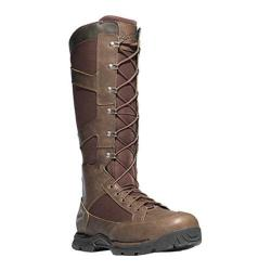 Men's Danner Pronghorn Snake Boot Side-Zip 17in Brown Leather