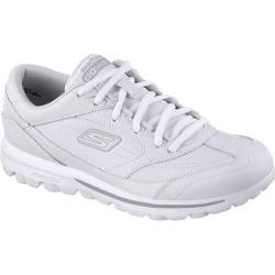 Women's Skechers GOwalk Dart Sneaker White/Silver