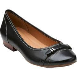 Women's Clarks Lockney Bird Black Leather