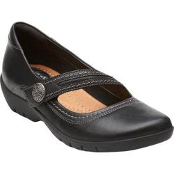 Women's Clarks Ordell Becca Black Leather