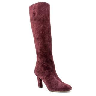 Salvatore Ferragamo Women's 'Taby' Regular Suede Boots (Size 6 )