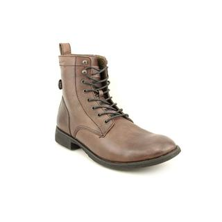 Calvin Klein Men's 'Hewitt 2' Leather Boots (Size 13 )