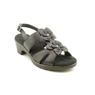 Walking Cradles Women's 'Nova' Leather Sandals - Extra Wide (Size 6 )