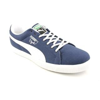 Puma Men's 'Clyde Canvas' Canvas Athletic Shoe