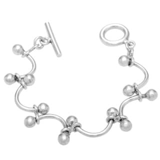 .925 Sterling Silver 'Over the Rainbow' Bracelet