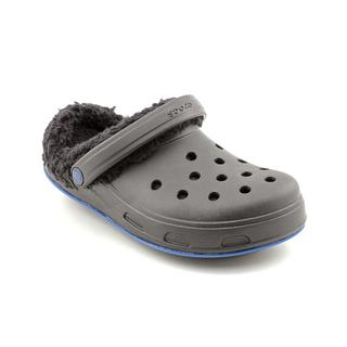 Crocs Men's 'Julia' Leather Sandals - Wide (Size 9 )