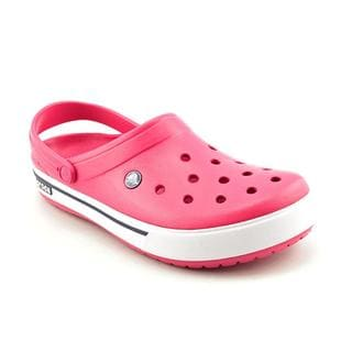 Crocs Women's 'Crocband' Man-Made Casual Shoes