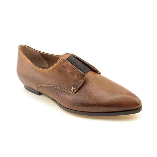 Anyi Lu Womenaposs Aposagnesapos Leather Dress Shoes Size 5 image